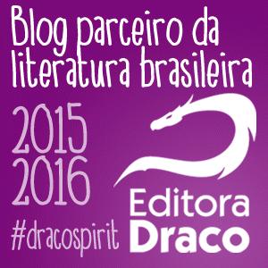 Selo dracoblogs parceiro Editora Draco